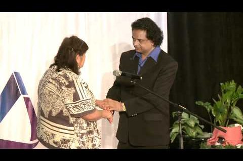 PAIN IN HER KNEES DISAPPEARED AFTER BLESSING ALLOWING HER TO WALK PAIN FREE